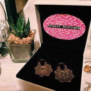Mandala Earrings. Brand New, Never been worn.